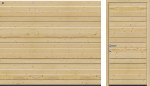 Гаражные секционные ворота Hörmann LTH