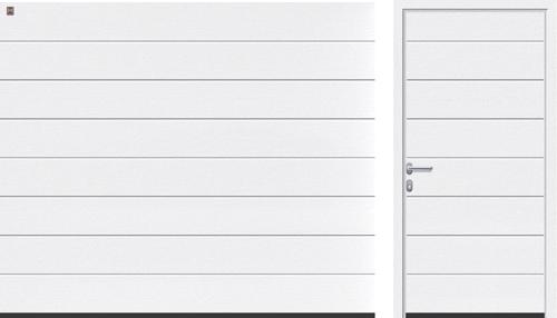 Гаражные секционные ворота Hörmann LTE