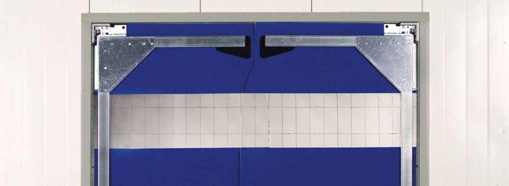 Маятниковые ворота и ленточные завесы