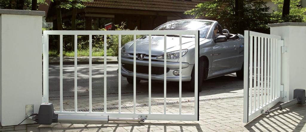 Автоматика Hörmann для распашных ворот